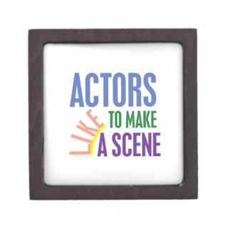 Actors Like to Make a Scene Gift Box