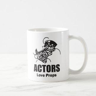Actors Love Props Classic White Coffee Mug