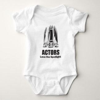 Actors Love the Spotlight Baby Bodysuit