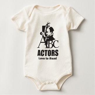 Actors Love to Read Baby Bodysuit