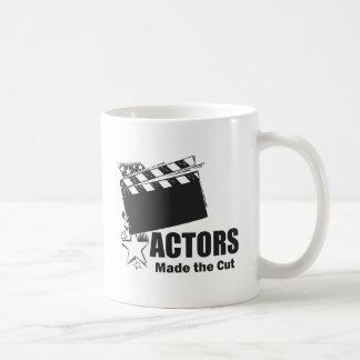 Actors Made the Cut Classic White Coffee Mug