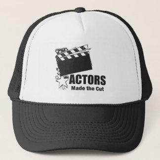 Actors Made the Cut Trucker Hat