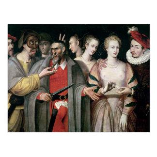 Actors of the Commedia dell'Arte Postcards