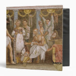 Actors rehearsing for a Satyr play, c.62-79 AD Binder
