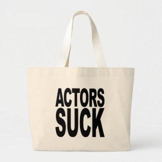 Actors Suck Canvas Bag