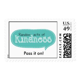 Actos al azar de la amabilidad sello