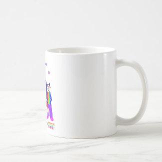 Actos de circo taza de café