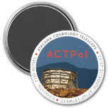 ACTPol Logo Magnet