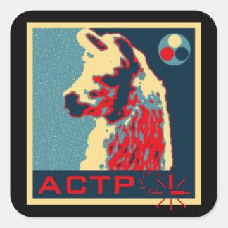 ACTPolitical Sticker (Square)