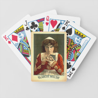 Actress Blanche Walsh 1899 Bicycle Playing Cards