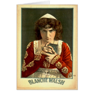 Actress Blanche Walsh 1899 Card