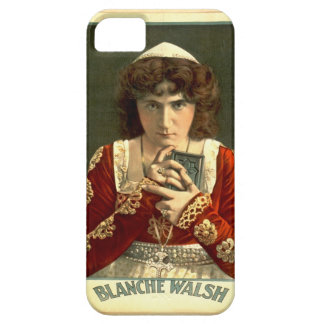 Actress Blanche Walsh 1899 iPhone SE/5/5s Case