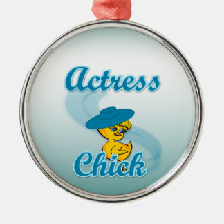 Actress Chick #3 Christmas Ornament
