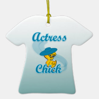 Actress Chick #3 Ornaments