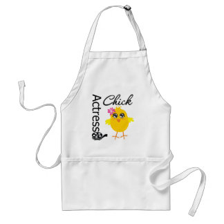 Actress Chick Adult Apron