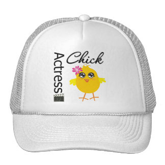 Actress Chick Trucker Hat