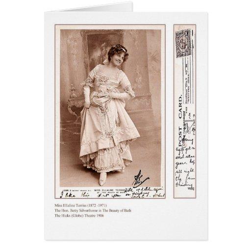 Actress Ellaline Terriss Greeting Card