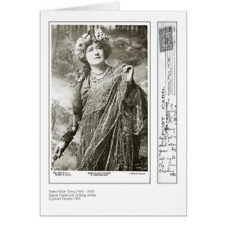 Actress Ellen Terry Greeting Card