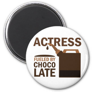 Actress Gift Chocolate 2 Inch Round Magnet
