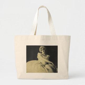 actress in ballerina outifit bag