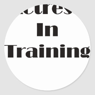 Actress in Training Sticker