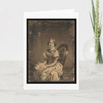 Actress Jenny Lind Daguerreotype 1848 Card