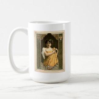 Actress Julia Marlowe 1899 Coffee Mug
