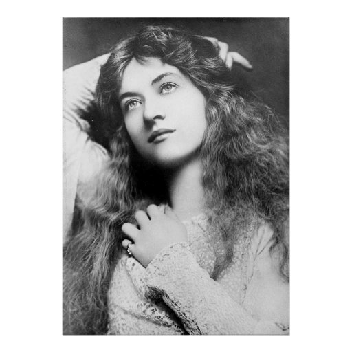 Actress Maude Fealy Poster