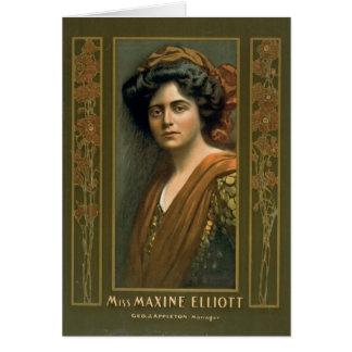Actress Maxine Elliott 1905 Card
