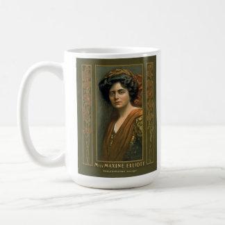 Actress Maxine Elliott 1905 Classic White Coffee Mug