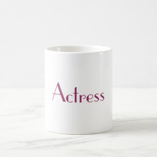 Actress Mug