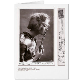 Actress Pauline Chase Greeting Card
