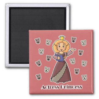 Actress Princess Fridge Magnets