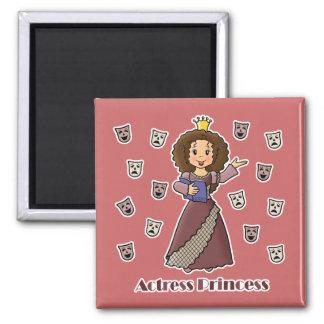 Actress Princess Fridge Magnet