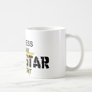 Actress Rock Star by Night Classic White Coffee Mug