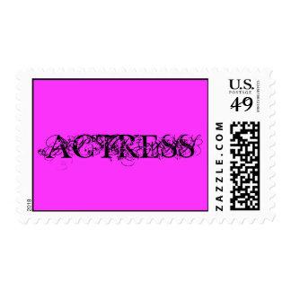 Actress Stamp