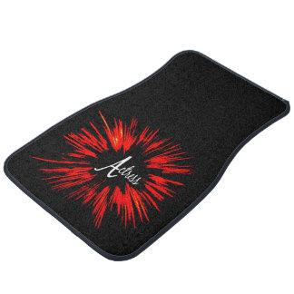 Actress Star Explosion Floor Mat