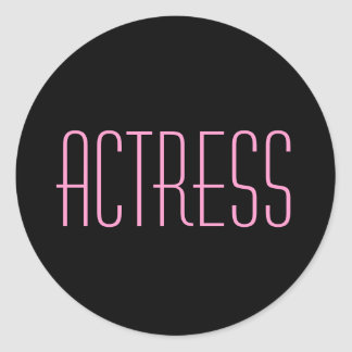 Actress Stickers