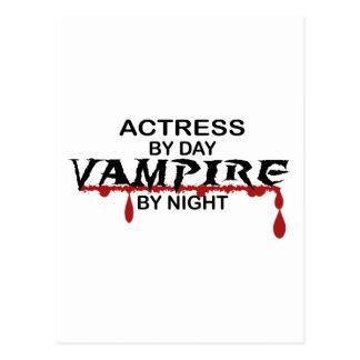 Actress Vampire by Night Postcard