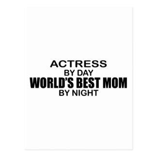 Actress - World's Best Mom Postcard
