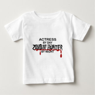 Actress Zombie Hunter by Night Baby T-Shirt