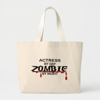 Actress Zombie Jumbo Tote Bag