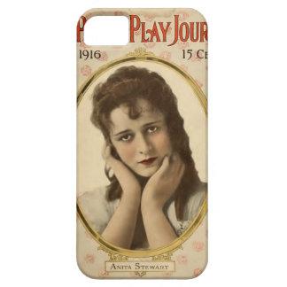 Actriz 1916 de la película muda del retrato de iPhone 5 fundas