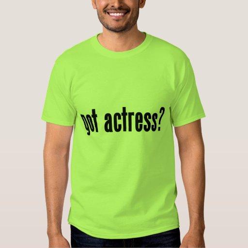 ¿actriz conseguida? remeras
