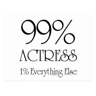 Actriz del 99% postales