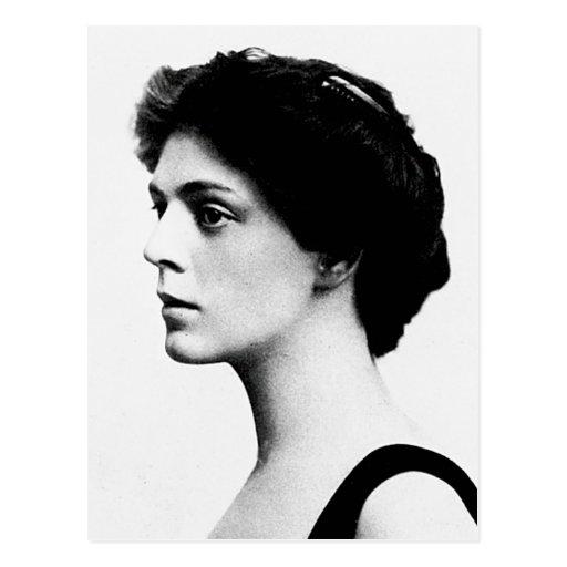 Actriz del americano de Ethel del ~ de Barrymore Postal