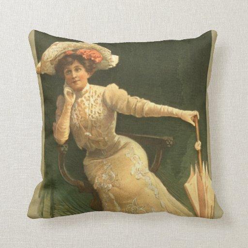 Actriz emocional 1906 almohada