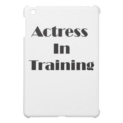 Actriz en el entrenamiento