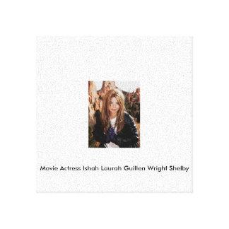 Actriz Ishah Laurah Guillen Wright Shelby de la Lona Estirada Galerías