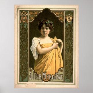 Actriz Julia Marlowe 1899 Impresiones